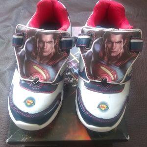 Marvel Superman tenis shoes toodler boy size13